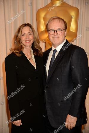 Elizabeth Canney and Brad Bird