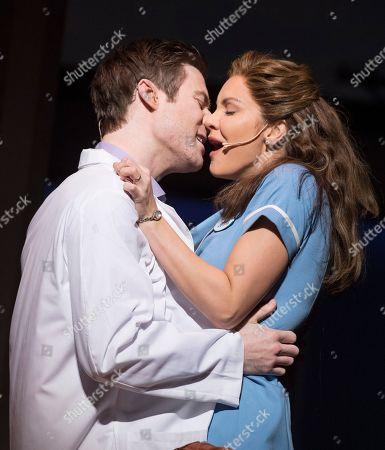 Katharine McPhee as Jenna, David Hunter as Dr Pomatter