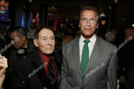 Jack LaLanne and Arnold Schwarzenegger
