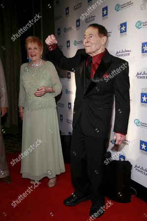 Elaine LaLanne and Jack LaLanne