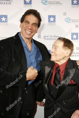 Lou Ferrigno and Jack LaLanne