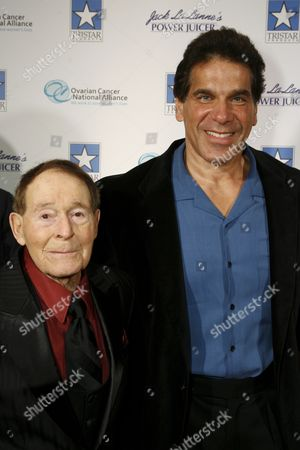 Jack LaLanne and Lou Ferrigno