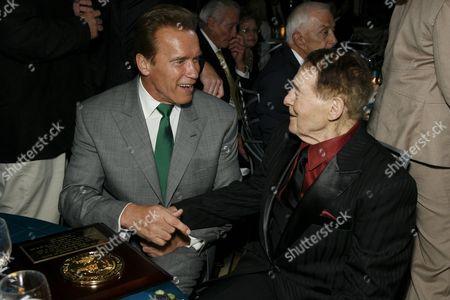 Arnold Schwarzenegger and Jack LaLanne
