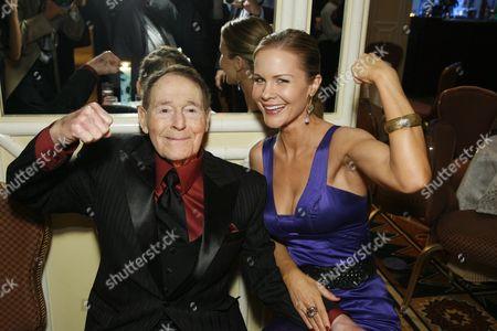 Jack LaLanne and Josie Davis