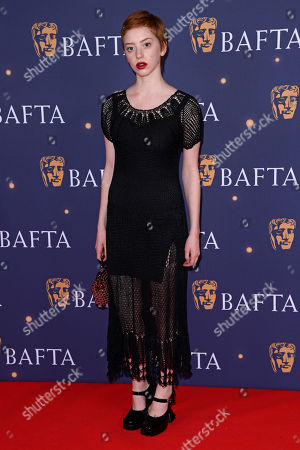Lily Newmark attends the BAFTA Film Gala, held at The Savoy