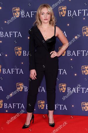 Ciara Charteris attends the BAFTA Film Gala, held at The Savoy