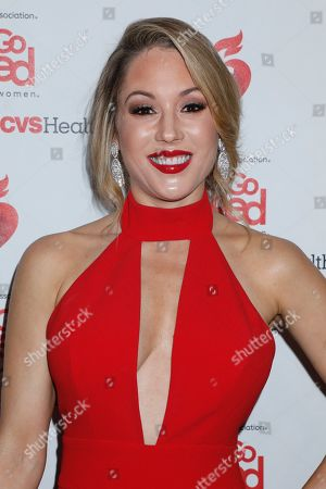 Editorial picture of 15th Annual American Heart Association's 'Go Red for Women' Red Dress Collection show, Arrivals, Fall Winter 2019, New York Fashion Week, USA - 07 Feb 2019