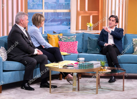Eamonn Holmes and Ruth Langsford with Stephen McGann