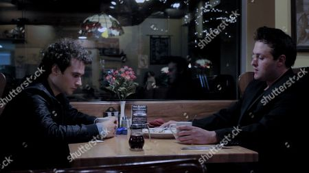 Zachary Laoutides as Louis Katz and Joseph Mennella as Jules Mandel