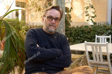 French film maker Marc Dugain poses for the photographers during an interview to Spanish News Agency EFE held in Madrid, Spain, 08 February 2019. Dugain presents in Spain his last film 'L'echange des princesses'.
