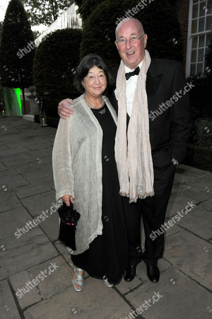 Editorial image of Ben Caring and Elle Perfect Wedding party at the home of Richard Caring, London, Britain - 26 Sep 2009
