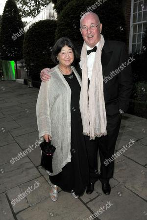 Fay Maschler and Reg Gadney