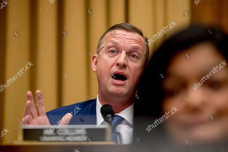 """Judiciary Committee Ranking Member Rep. Doug Collins, R-Ga., questions Acting Attorney General Matthew Whitaker as he appears before the House Judiciary Committee on Capitol Hill, in Washington. Whitaker insisted on Friday that he has not """"interfered in any way"""" in the special counsel's Russia investigation as he faced a contentious and partisan congressional hearing in his waning days on the job"""