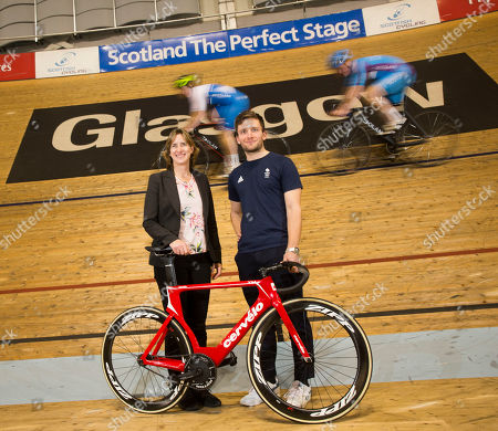 Editorial photo of 2023 UCI Cycling World Championships photocall, Glasgow, Scotland, UK - 08 Feb 2019