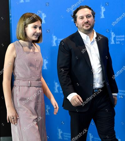 Teddy Schwarzman Producer and actress Anna Pniowsky arrive for the photocall of 'Light of My Life ' during the 69th annual Berlin Film Festival, in Berlin, Germany, 08 February 2019. The movie is presented in the Panorama section at the Berlinale that runs from 07 to 17 February.