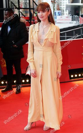 Stock Photo of Emilia Schuele arrives for the premiere of 'System Crasher' during the 69th annual Berlin Film Festival, in Berlin, Germany, 08 February 2019. The movie is presented in the Official Competition at the Berlinale that runs from 07 to 17 February.