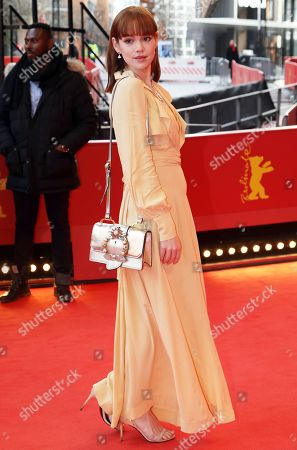 Stock Picture of Emilia Schuele arrives for the premiere of 'System Crasher' during the 69th annual Berlin Film Festival, in Berlin, Germany, 08 February 2019. The movie is presented in the Official Competition at the Berlinale that runs from 07 to 17 February.