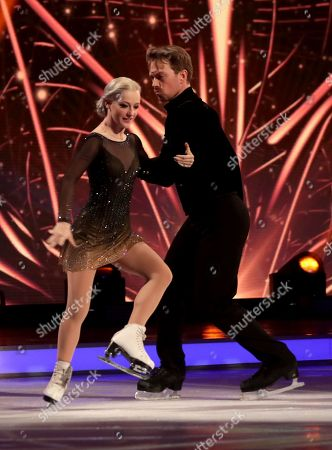 Stock Picture of Penny Coomes and Nick Buckland