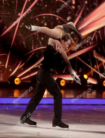Editorial photo of 'Dancing on Ice' TV show, Series 11, Episode 6, Hertfordshire, UK - 10 Feb 2019