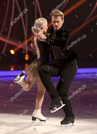 Stock Photo of Penny Coomes and Nick Buckland