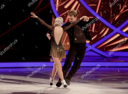Stock Image of Penny Coomes and Nick Buckland