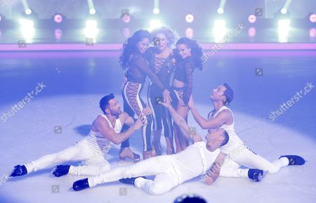 Editorial image of 'Dancing on Ice' TV show, Series 11, Episode 6, Hertfordshire, UK - 10 Feb 2019
