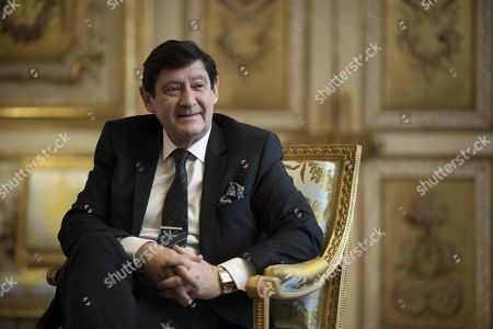 President of French socialist party group at the Senate, Patrick Kanner