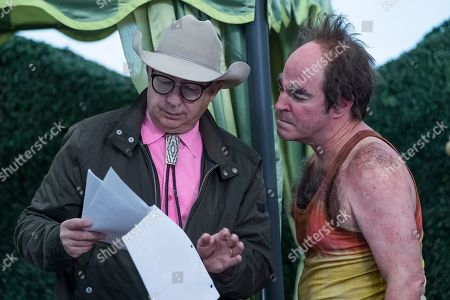 Barry Sonnenfeld and Roger Bart as Vice Principal Nero