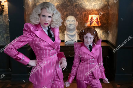 Lucy Punch as Esme Squalor and Kitana Turnbull as Carmelita Spats