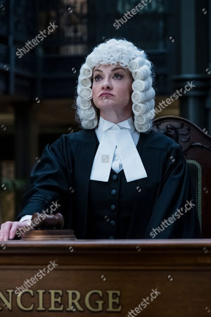 Stock Photo of Joan Cusack as Justice Strauss