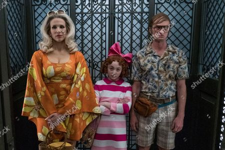 Lucy Punch as Esme Squalor, Kitana Turnbull as Carmelita Spats and Neil Patrick Harris as Count Olaf