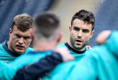 Josh van der Flier and Conor Murray