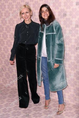 Nicola Glass and Leandra Medine