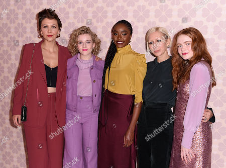Maggie Gyllenhaal, Julia Garner, KiKi Layne, Nicola Glass and Sadie Sink
