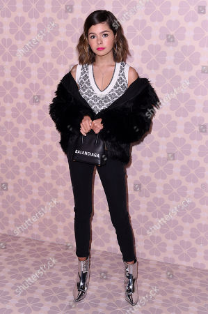 Editorial image of Kate Spade show, Arrivals, Fall Winter 2019, New York Fashion Week, USA - 08 Feb 2019