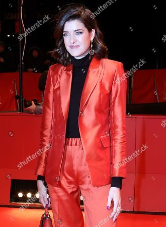 Marie Nasemann arrives for the premiere of 'By the Grace of God' (Grace a Dieu) during the 69th annual Berlin Film Festival, in Berlin, Germany, 08 February 2019. The movie is presented in the Official Competition at the Berlinale that runs from 07 to 17 February.