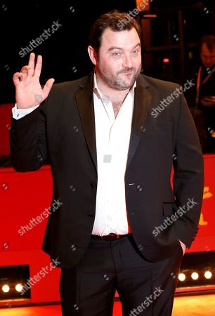 Denis Menochet arrives for the premiere of 'By the Grace of God' (Grace a Dieu) during the 69th annual Berlin Film Festival, in Berlin, Germany, 08 February 2019. The movie is presented in the Official Competition at the Berlinale that runs from 07 to 17 February.