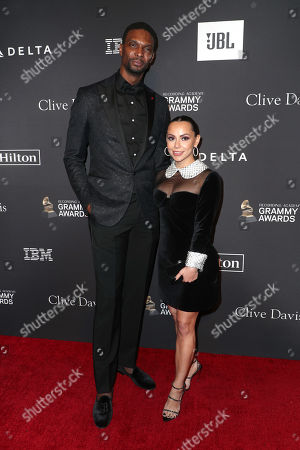 Chris Bosh and Adrienne Williams