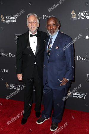 Neil Portnow and Clarence Avant