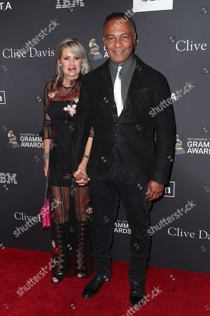 Stock Picture of Elaine Parker and Ray Parker, Jr.