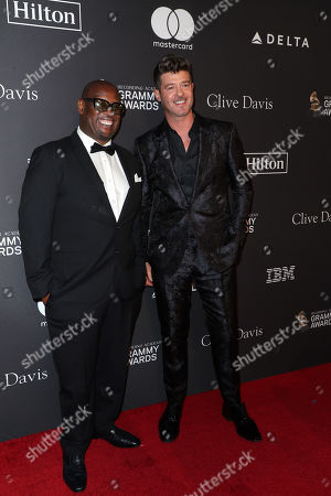Andre Harrell an Robin Thicke