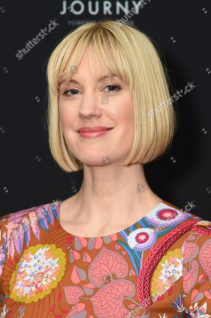 Lauren Lee Smith attends the Ovation portion of the TCA Winter Press Tour, in Pasadena, Calif
