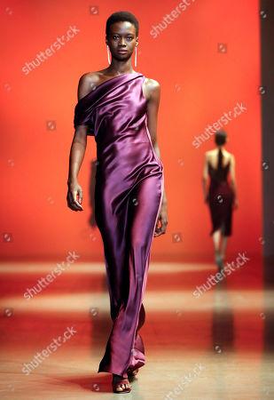 Editorial image of Cushnie - Runway - New York Fashion Week Fall 2019, USA - 08 Feb 2019