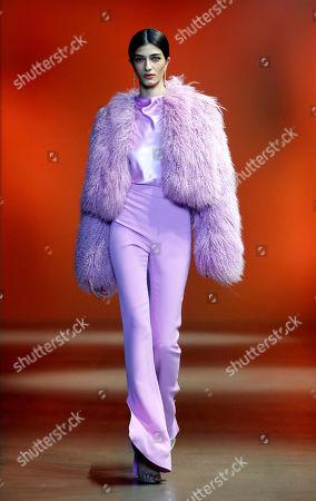 Editorial picture of Cushnie - Runway - New York Fashion Week Fall 2019, USA - 08 Feb 2019