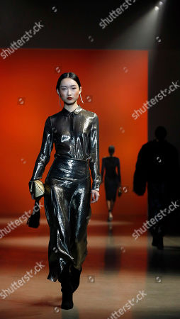 Editorial photo of Cushnie - Runway - New York Fashion Week Fall 2019, USA - 08 Feb 2019