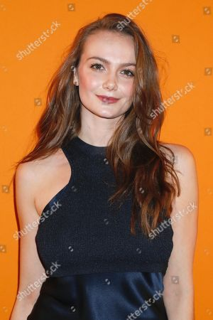 Andi Matichak in the front row