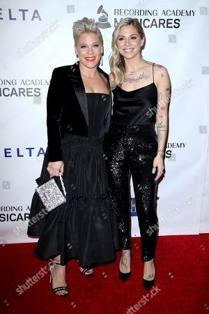 Pink and Christina Perri