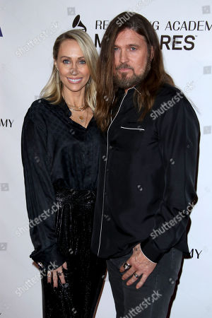 Letitia Cyrus and Billy Ray Cyrus