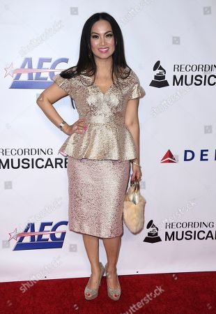 Stock Picture of Ha Phuong arrives at MusiCares Person of the Year honoring Dolly Parton, at the Los Angeles Convention Center
