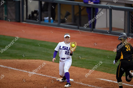 Editorial picture of Iowa LSU Softball, Baton Rouge, USA - 08 Feb 2019